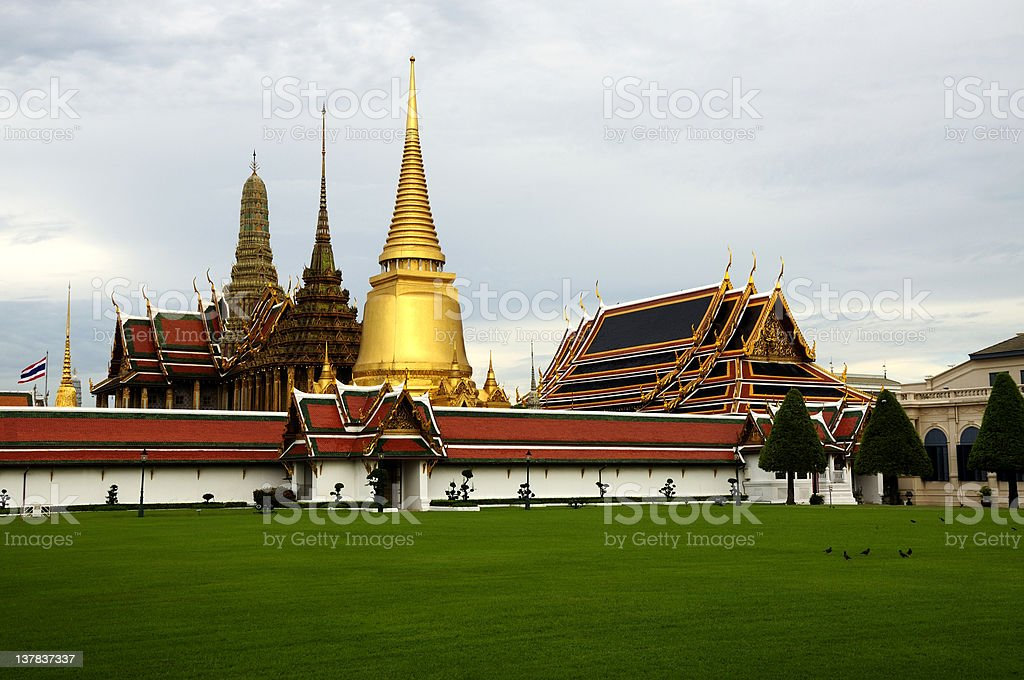Bangkok Grand Palace royalty-free stock photo