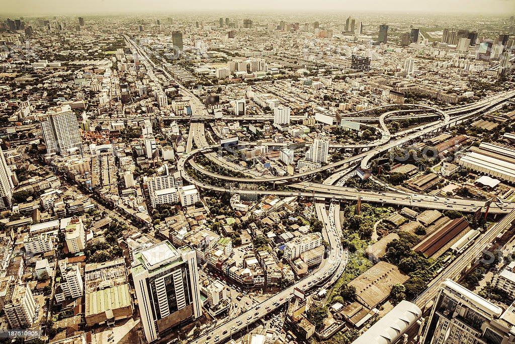 Bangkok Highway royalty-free stock photo