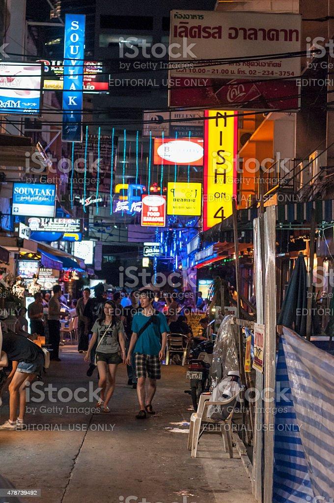 Bangkok Nightlife stock photo