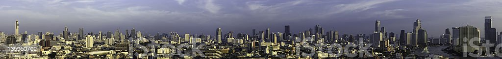 Bangkok Panorama stock photo