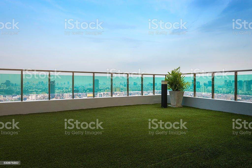 Bangkok Rooftop stock photo