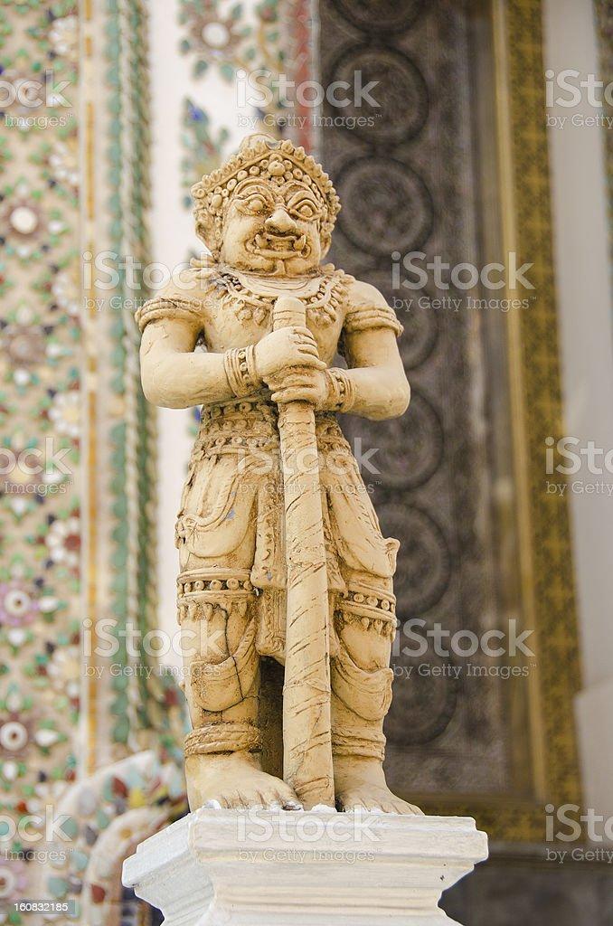 Bangkok Royal Complex - statue royalty-free stock photo