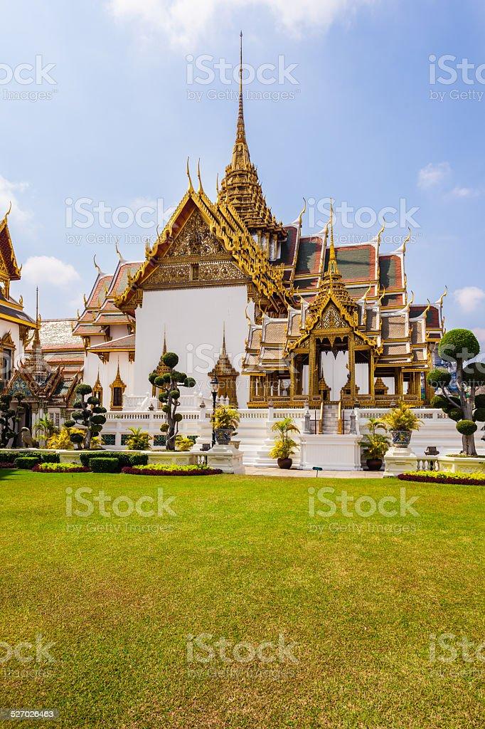 Bangkok royal palace stock photo