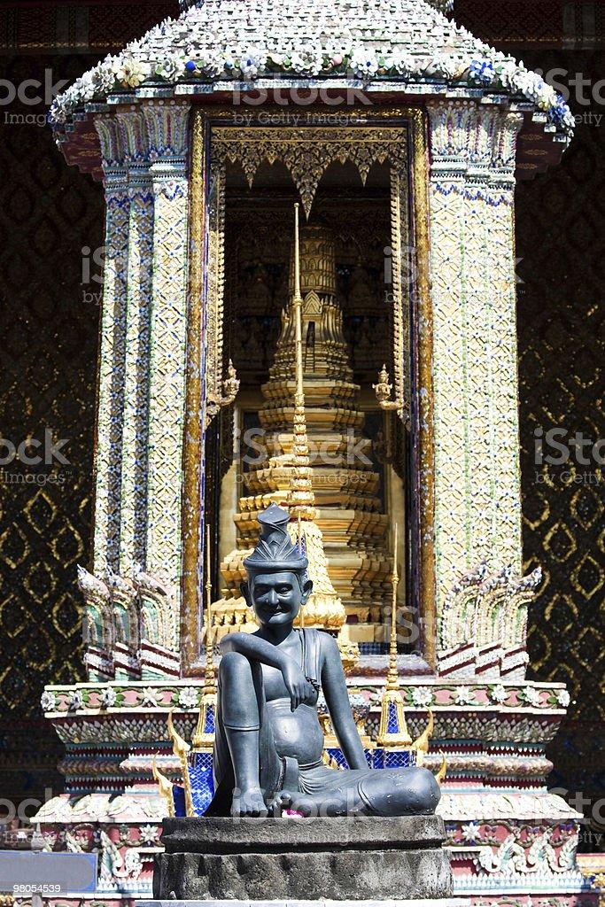 Bangkok royal palace royalty-free stock photo