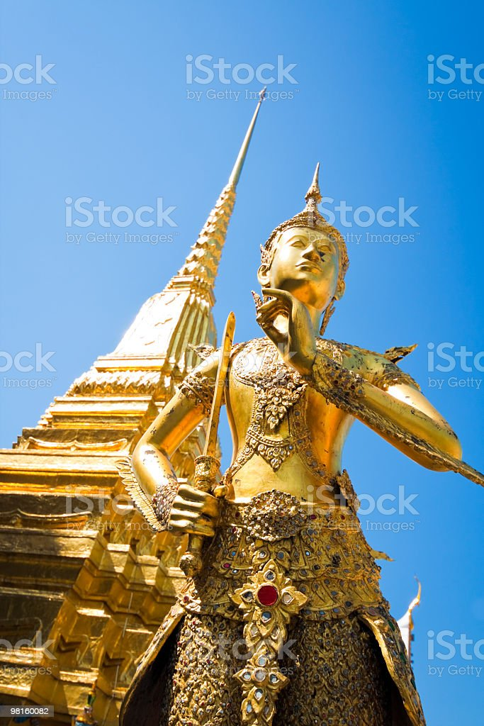 Bangkok royal palace royalty-free stock photo