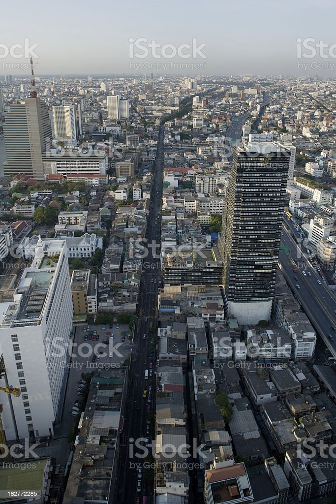Bangkok Skyline royalty-free stock photo