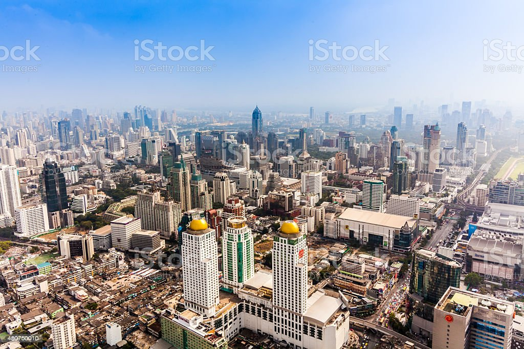 Bangkok skyline, Thailand stock photo