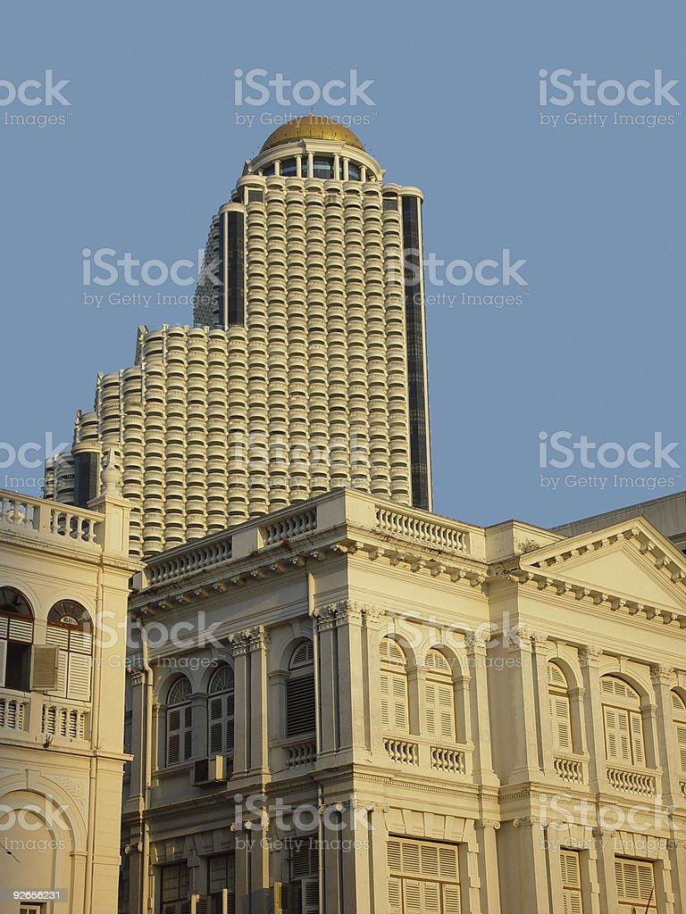 Bangkok skyscraper royalty-free stock photo