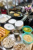 Food market in Bangkok, Thailand