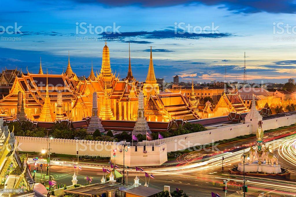 Bangkok Thailand Grand Palace stock photo