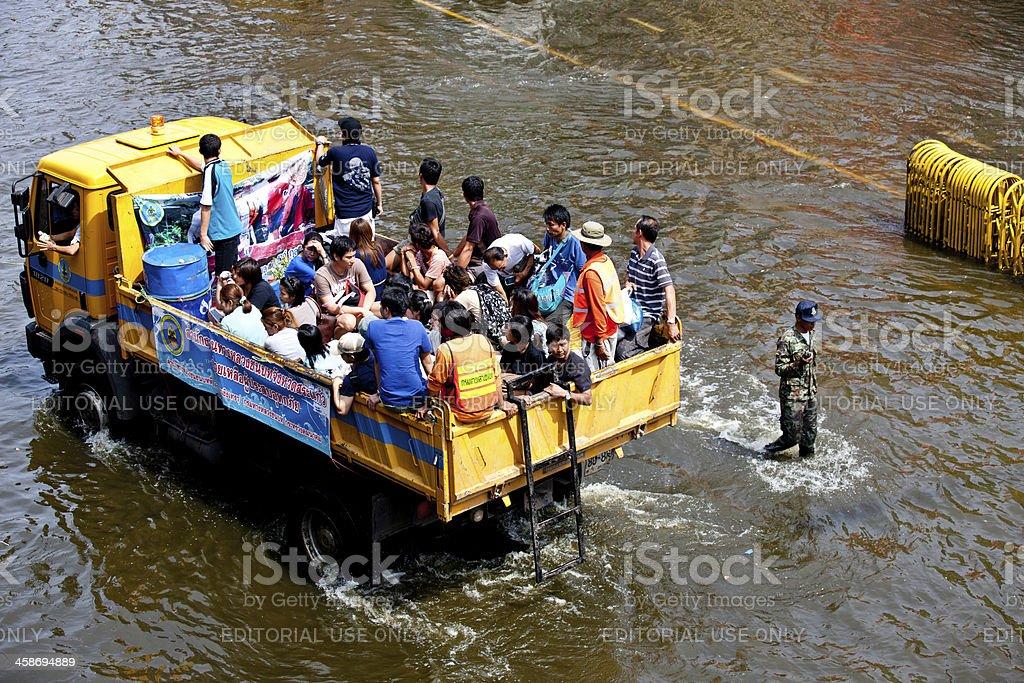 Bangkok Underwater royalty-free stock photo
