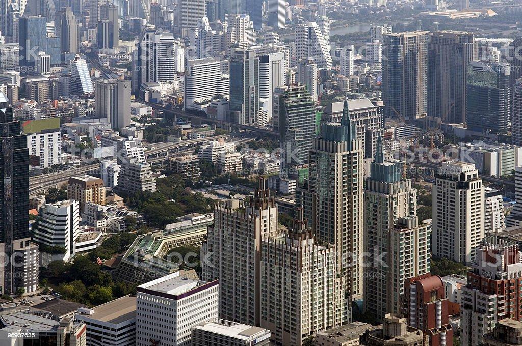 Bangkok view royalty-free stock photo
