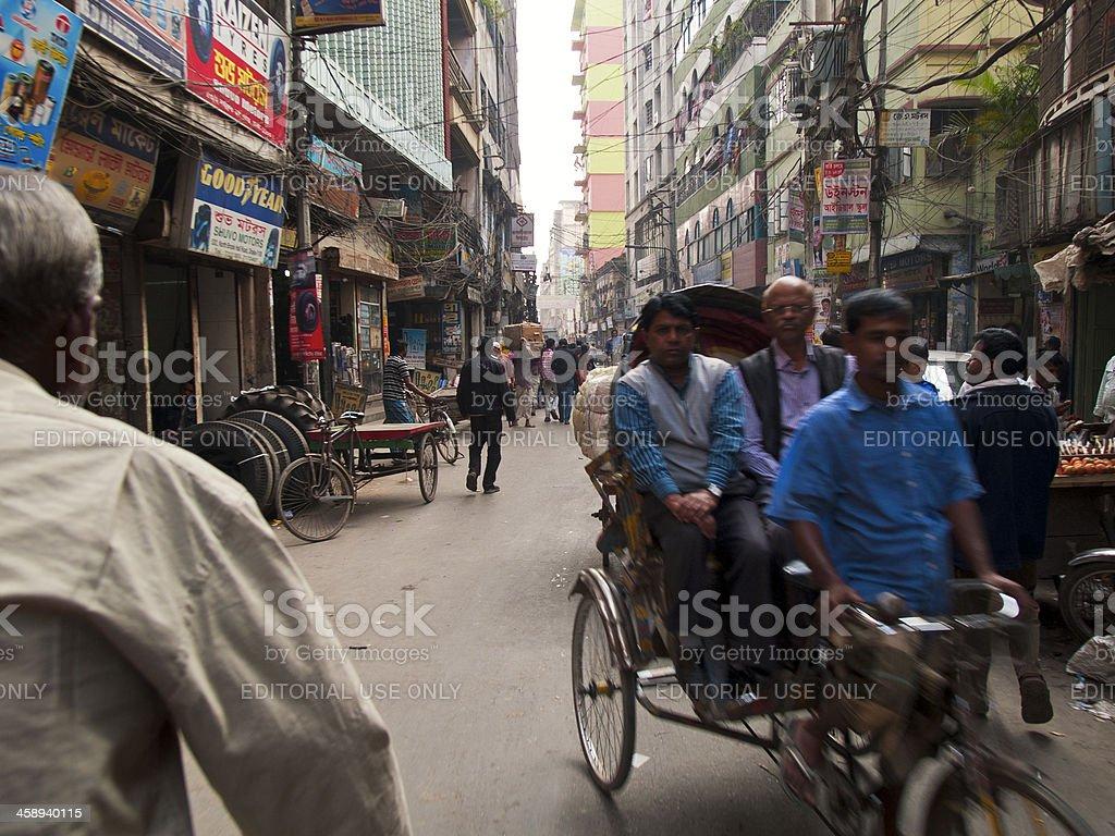Bangladesh Dhaka, fastest growing city in the World royalty-free stock photo