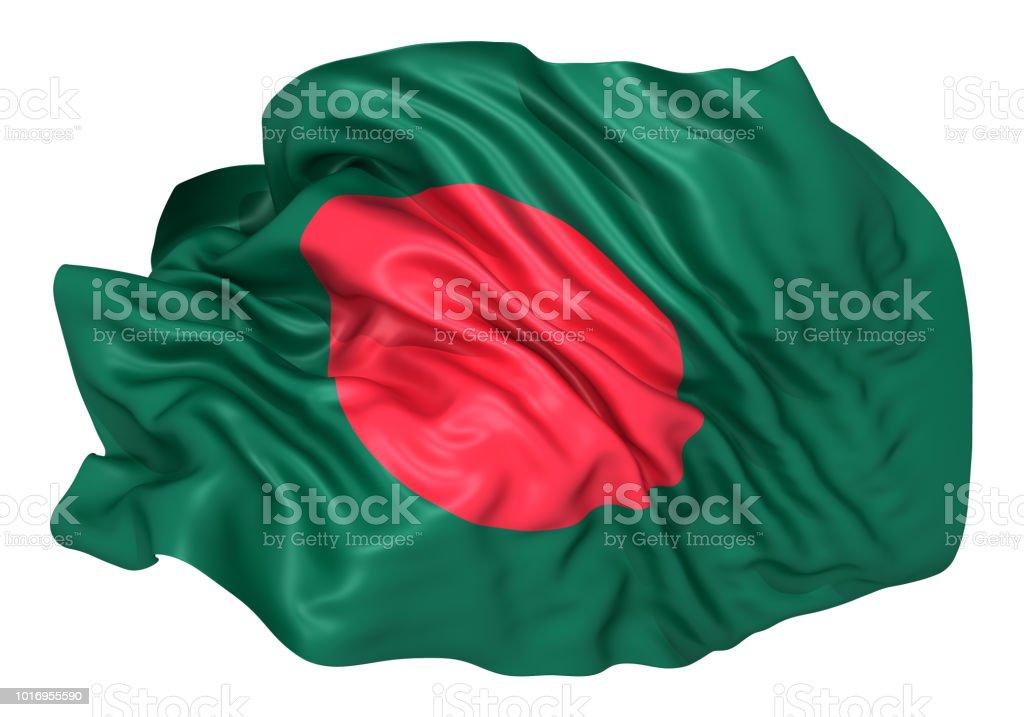 Bandeira do Bangladesh  - foto de acervo