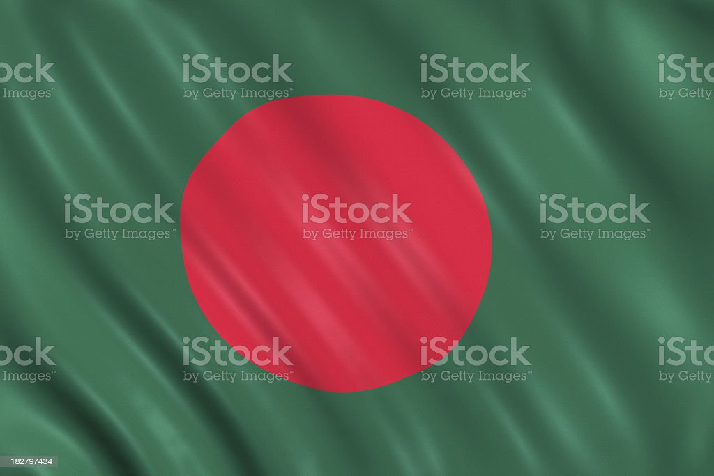 bangladesh flag royalty-free stock photo