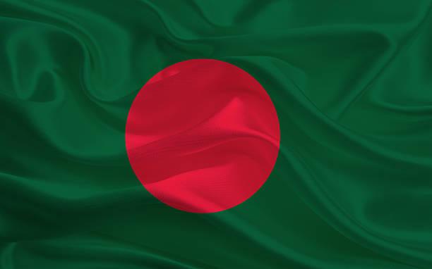 Bangladesh flag stock photo