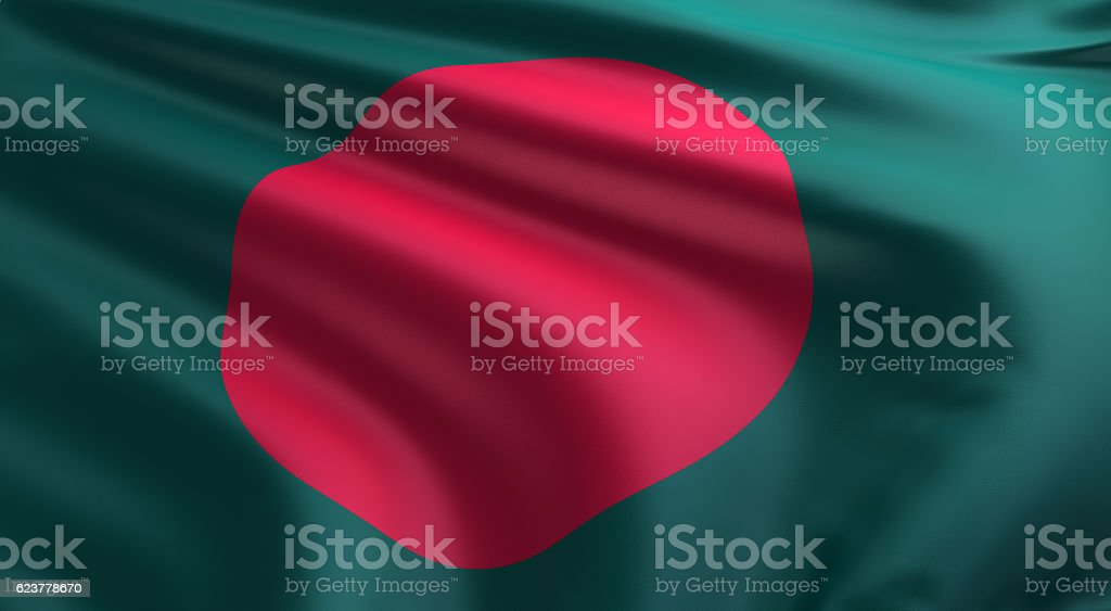 Bangladesch Flagge  – Foto