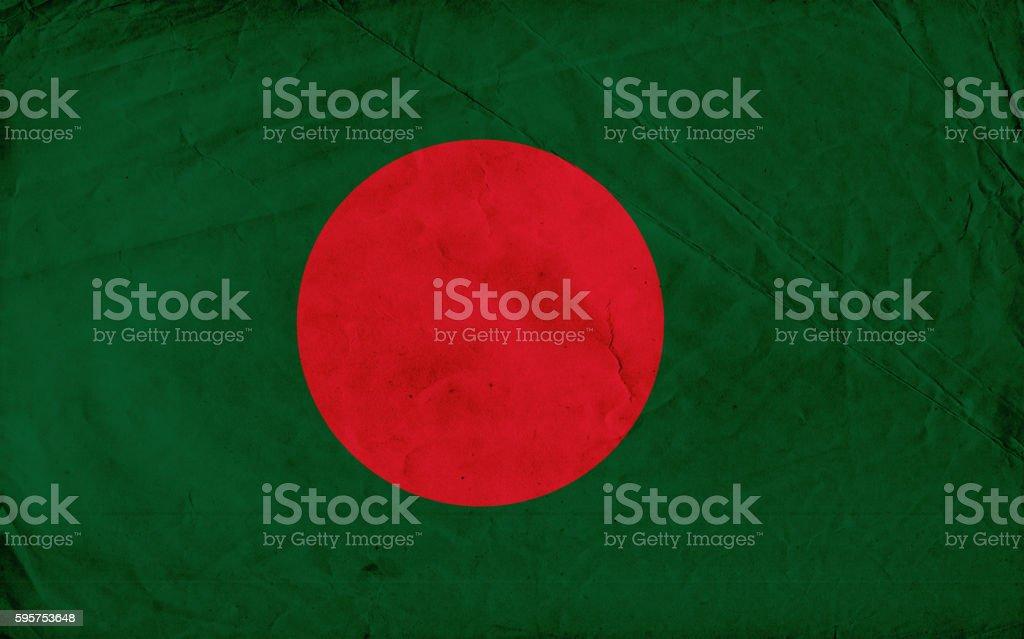 Bangladesh vintage Flag – Foto