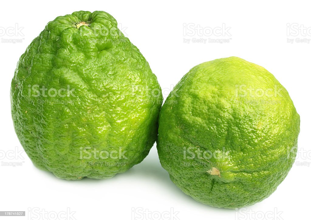 Bangladeshi lemon named as Ada Lebu stock photo