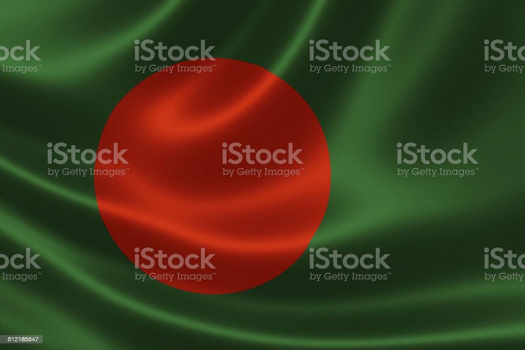 Bandera de Bangladesh - foto de stock