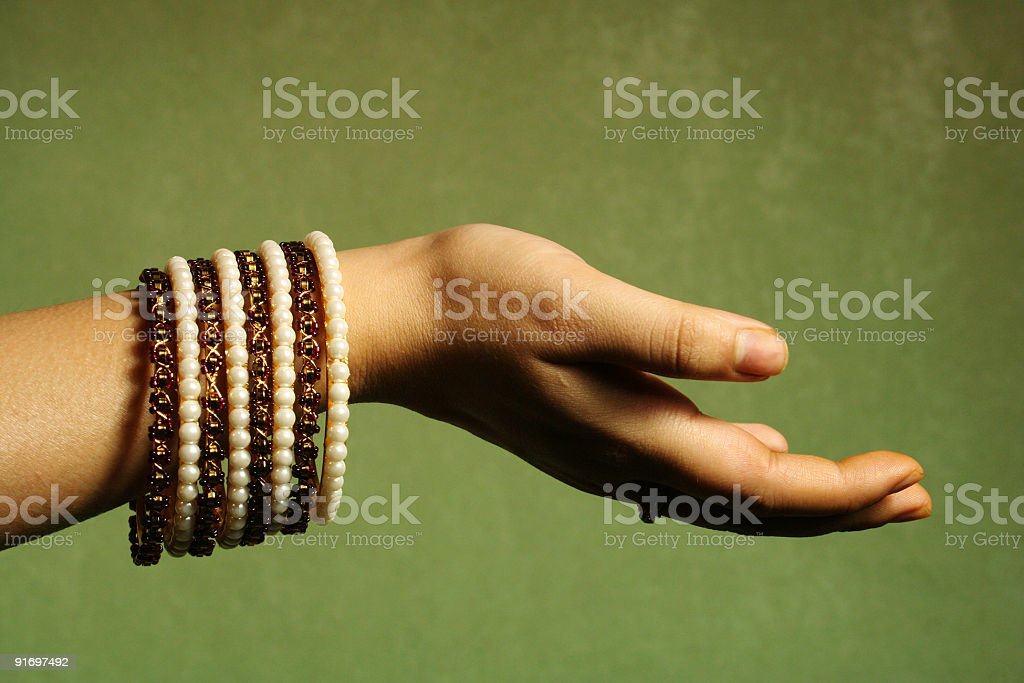 Bangles royalty-free stock photo