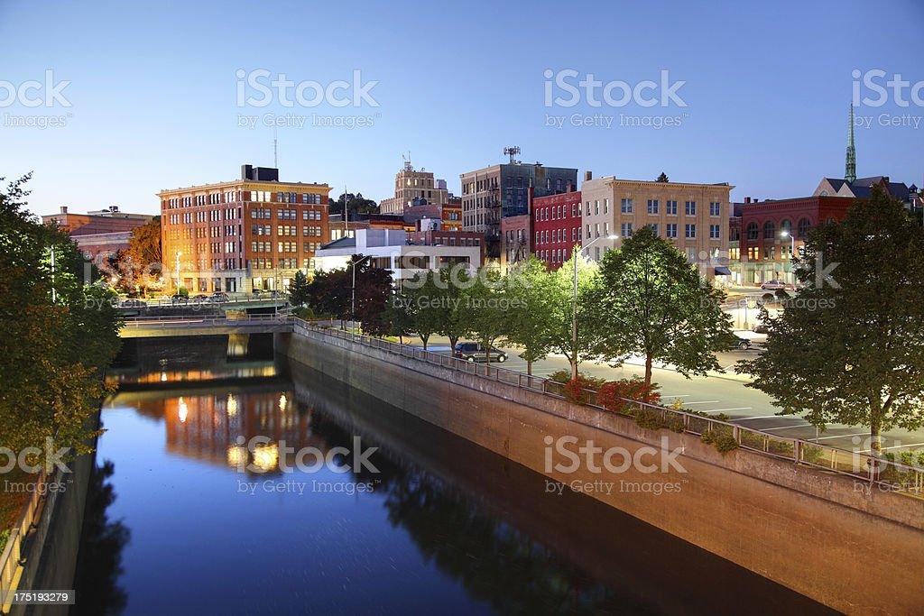 """Bangor, Maine """"Downtown Bangor, MaineMore Maine images"""" Bangor - Maine Stock Photo"""