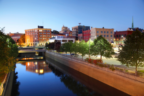 Bangor Maine Stock Photo - Download Image Now