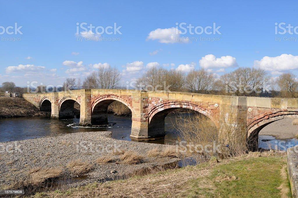 Bangor on Dee Bridge royalty-free stock photo