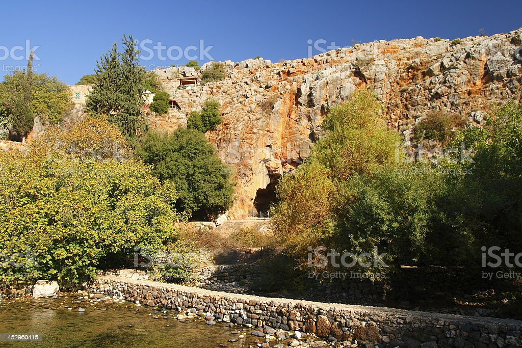 Banias royalty-free stock photo