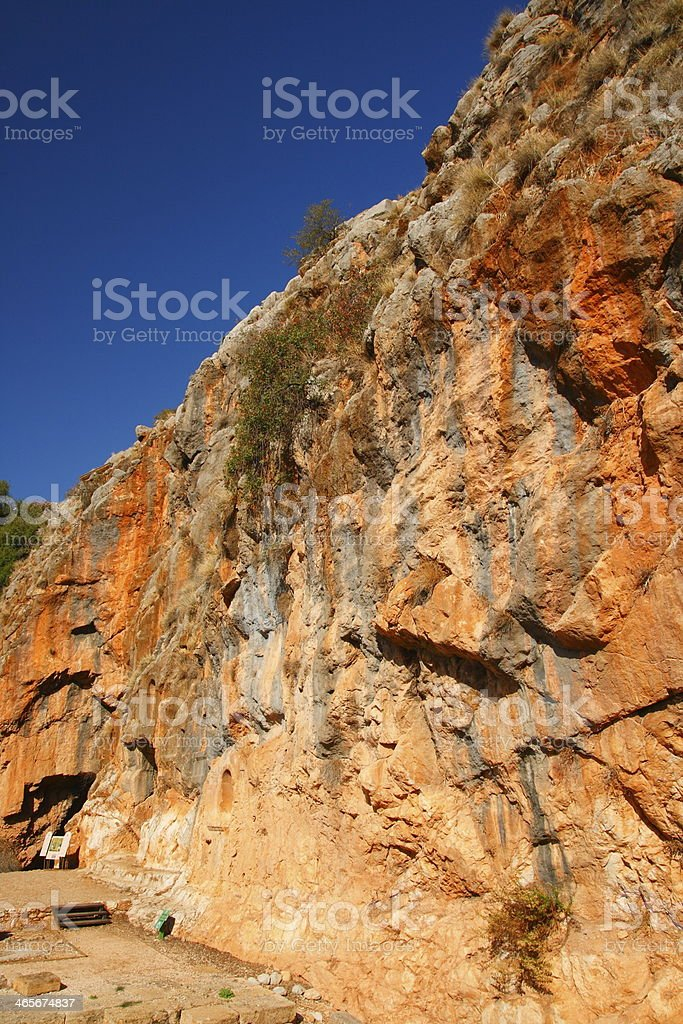 Banias stock photo