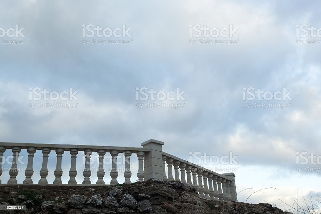 banister royalty-free stock photo