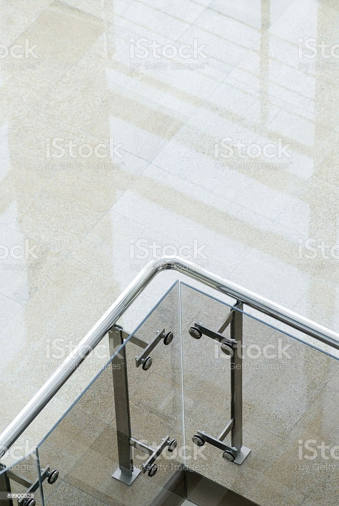 Banisters detail of an interior royalty-free stock photo