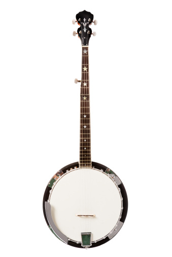 Five-string banjo for bluegrass music. Camera: Canon 5D.