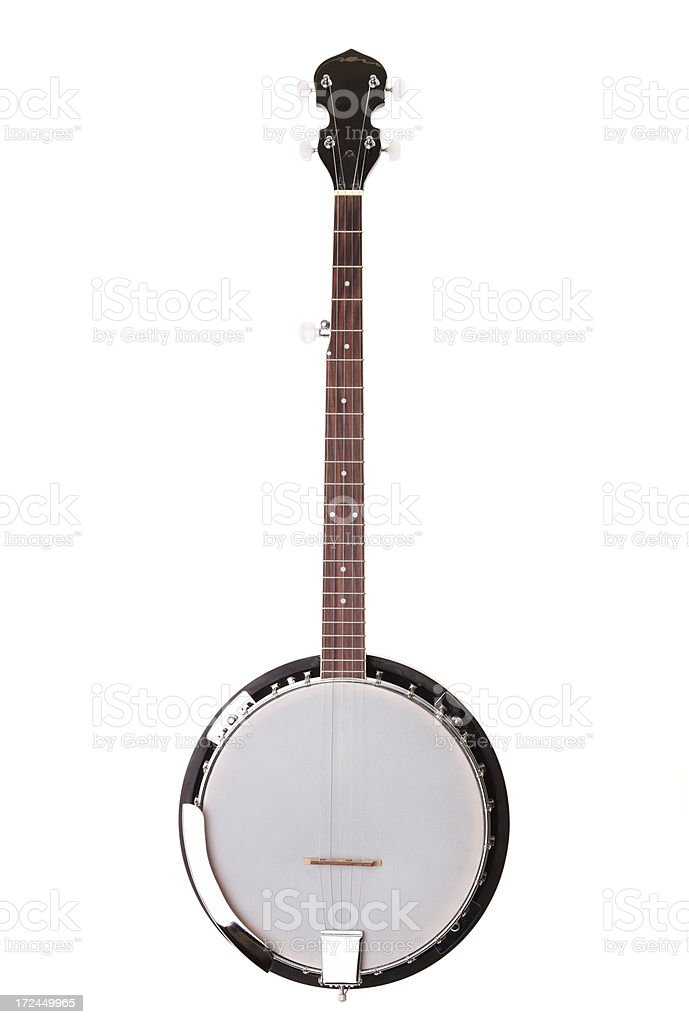 Banjo (with clipping path) stock photo