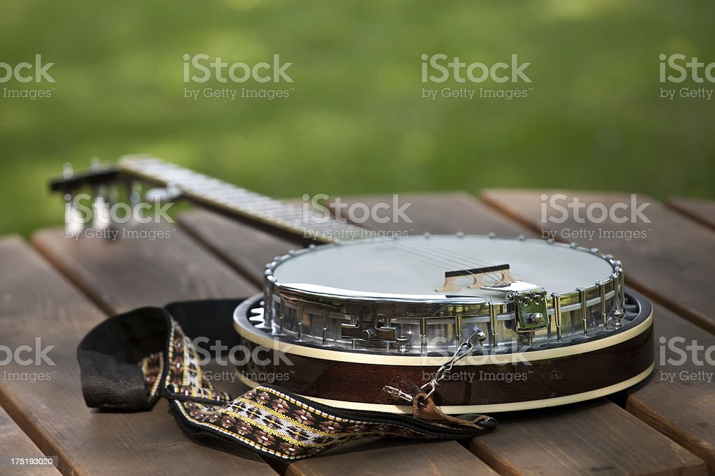 Banjo royalty-free stock photo