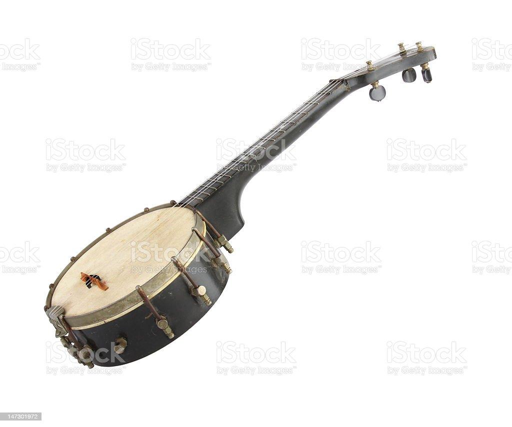 Banjo, muito antiga - foto de acervo