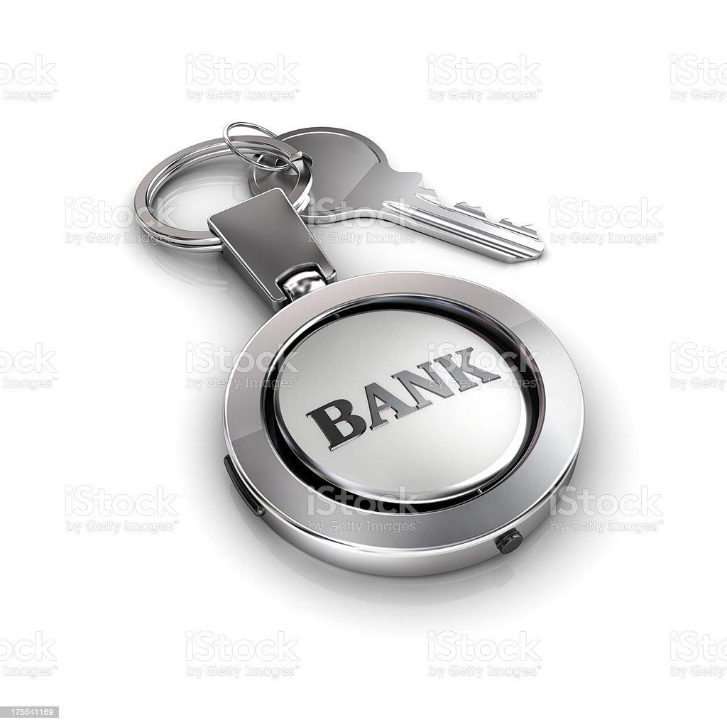 bank account security key royalty-free stock photo