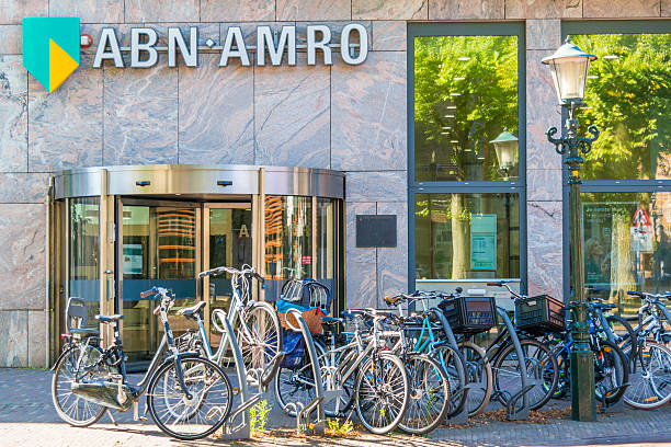 ABN AMRO bank branch office in Alkmaar, Netherlands – Foto