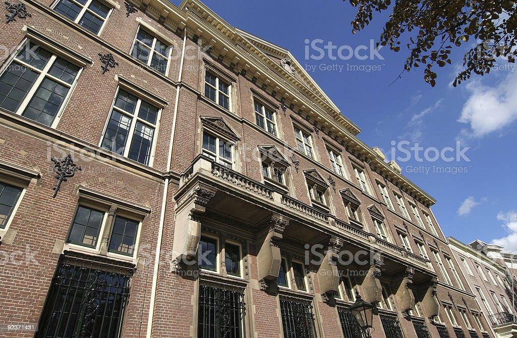 Bank building Facade stock photo