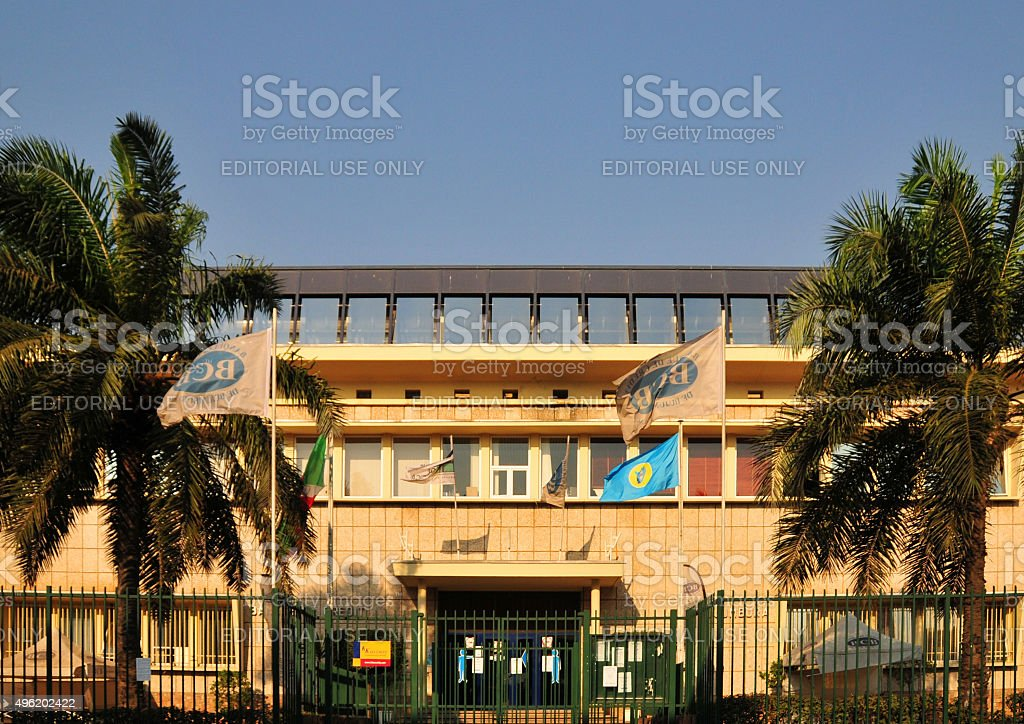 BCB bank - Burundi - Bujumbura stock photo