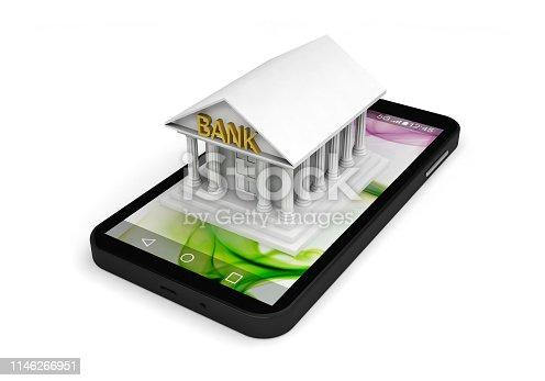 istock bank business finance smartphone e-banking application 1146266951