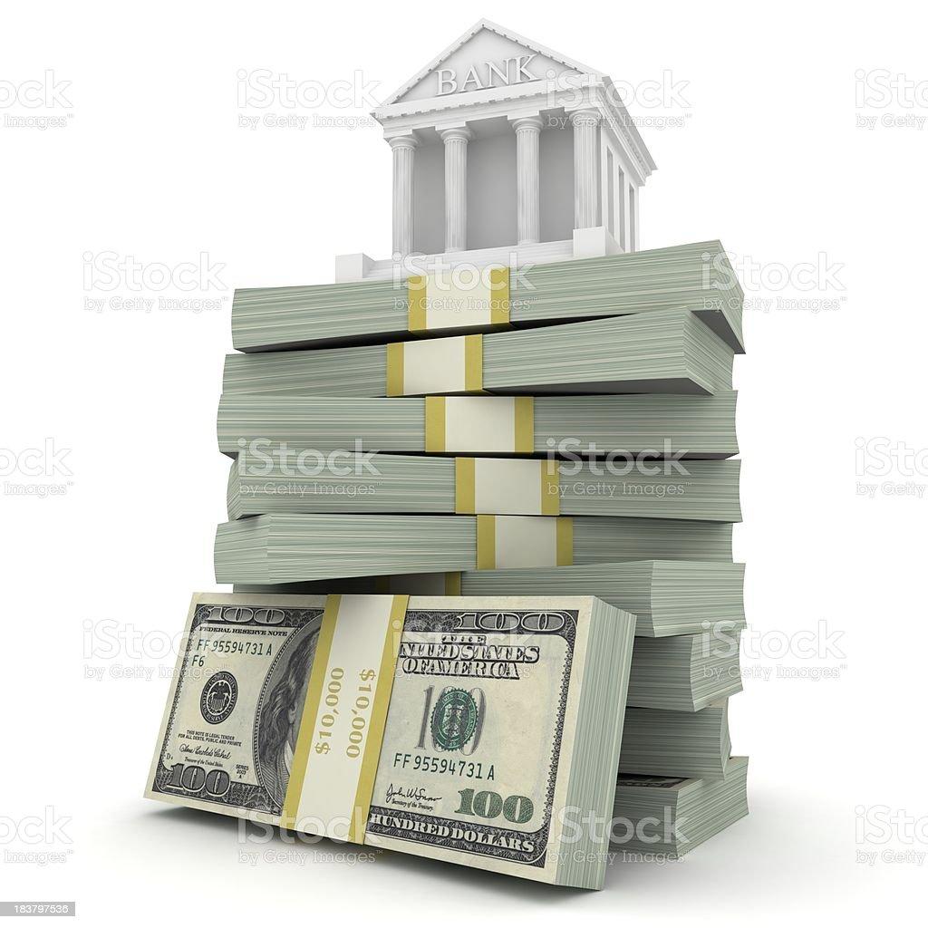 Bank Concept royalty-free stock photo