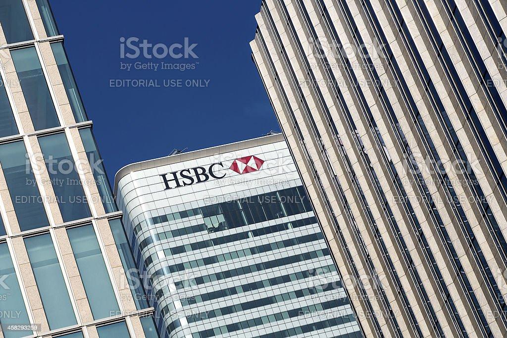 Hsbc Bank Headquarters London Stock Photo - Download Image