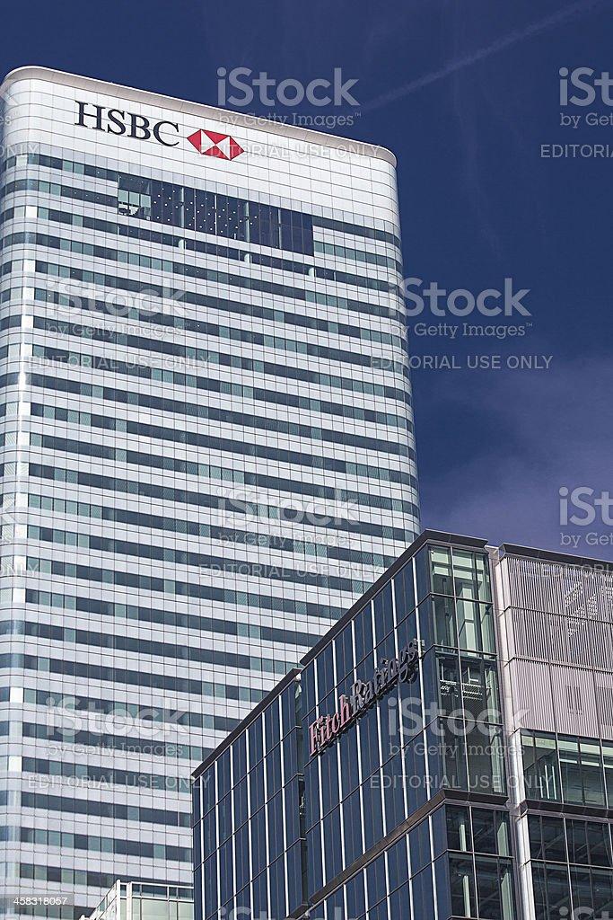 Hsbc Bank Headquarters London Stock Photo - Download Image Now - iStock