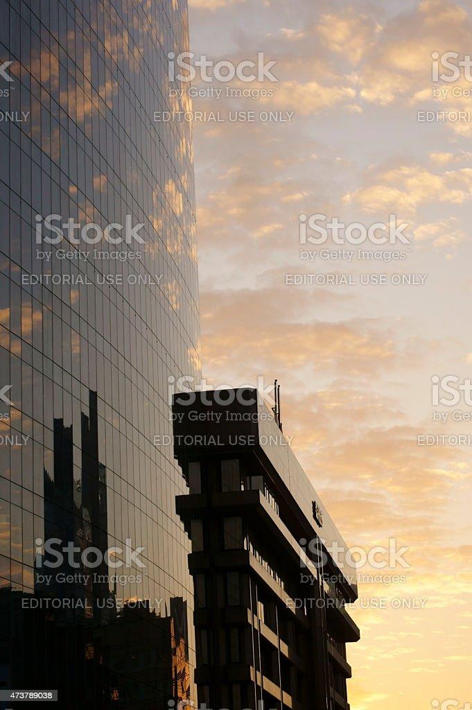 RBS Bank in London stock photo