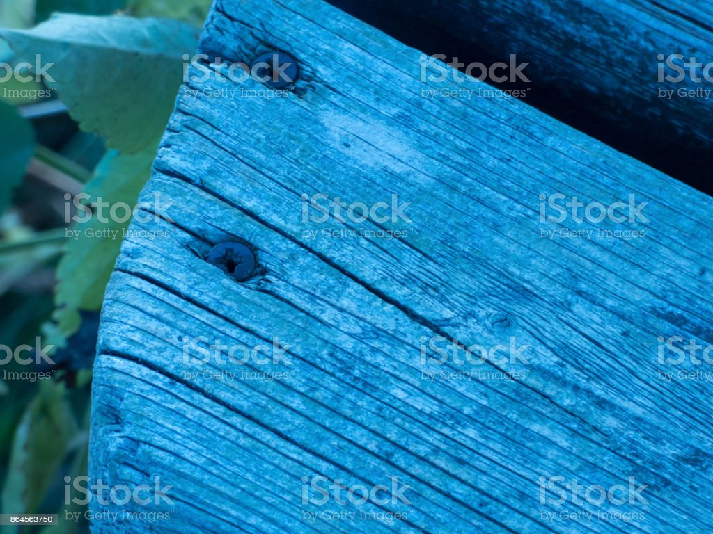 Bank in der Natur stock photo
