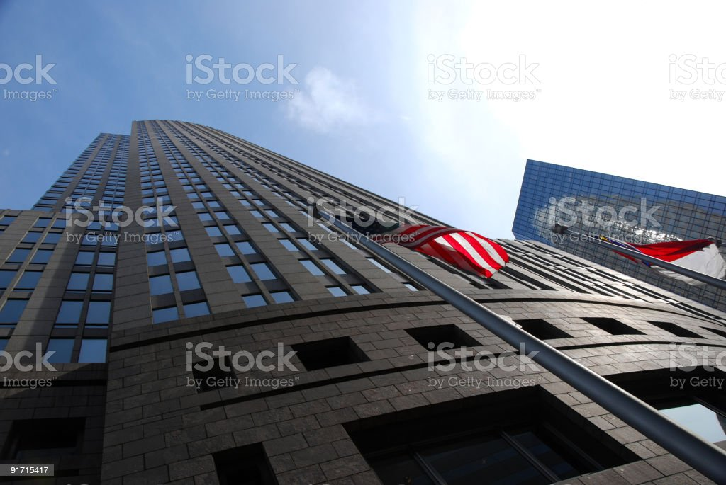 Bank of America Corporate, Charlotte, NC stock photo