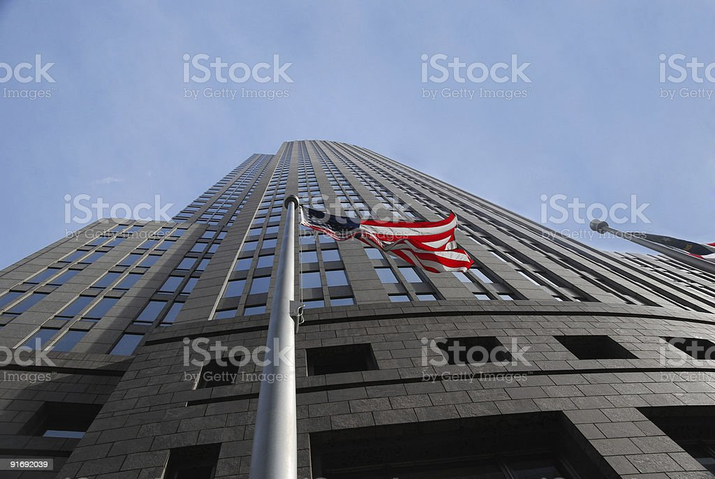 Bank of America Headquarters, Charlotte, NC stock photo