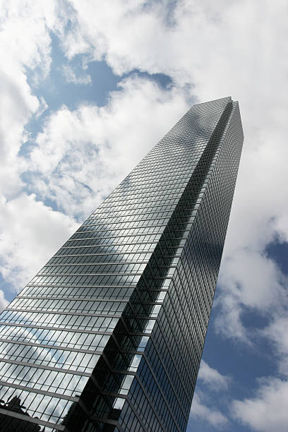 Bank of America Plaza in Dallas stock photo