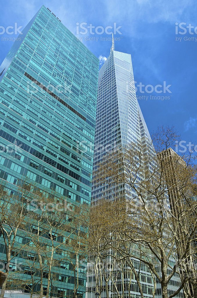 Bank of America Tower Cityscape, Midtown Manhattan, New York City stock photo